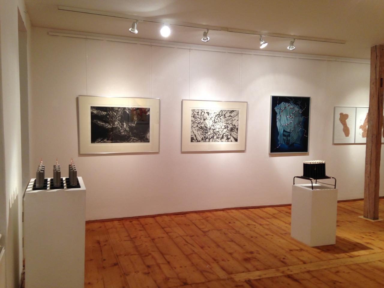 Galerie Raskolnikow Ausstellungseinblick KASSANDRA FOLGEN