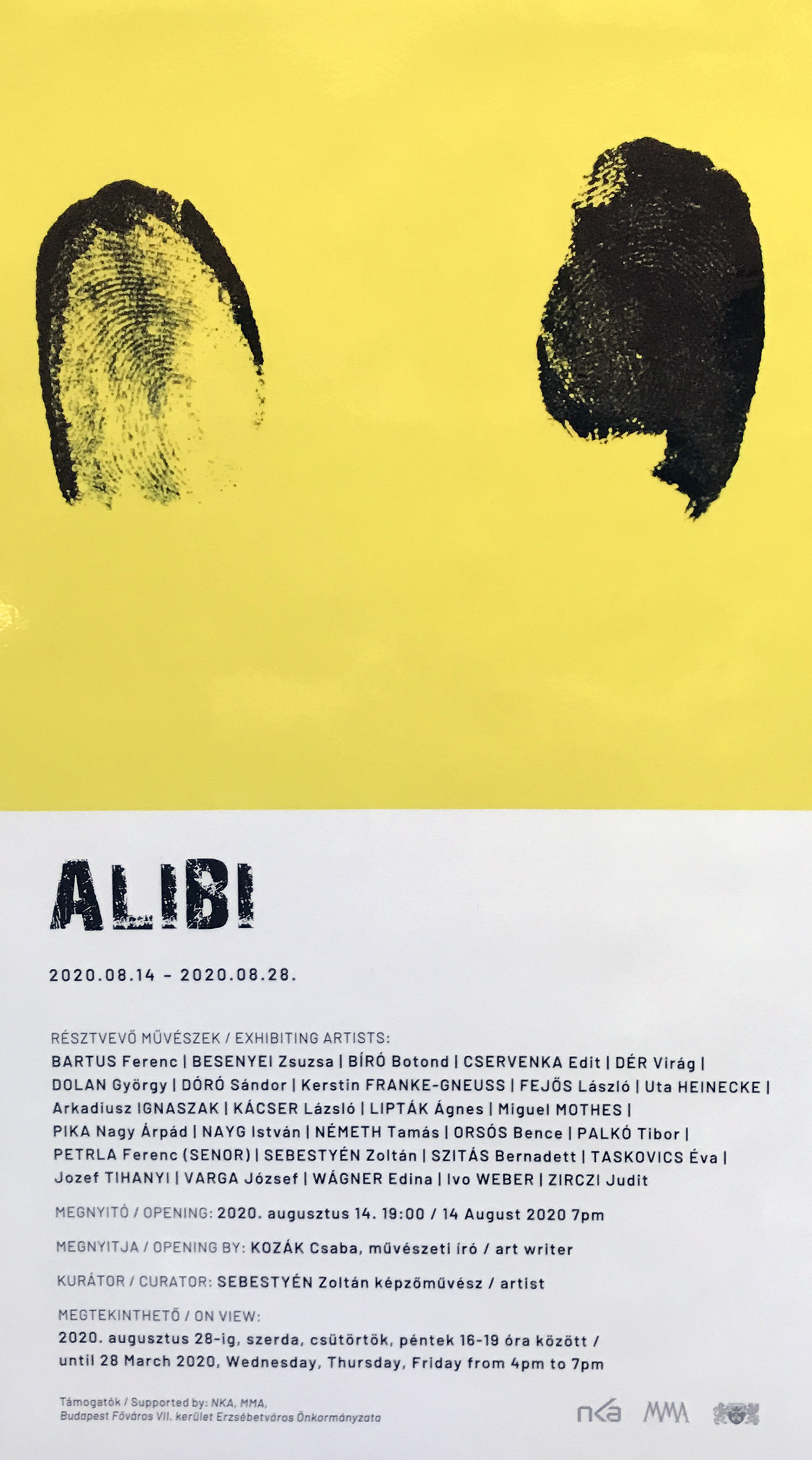 poster ALIBI Erdöszölö